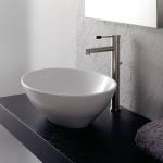 Мивка за баня Ovo - дизайн дълбока овална купа