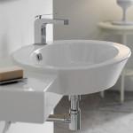 Луксозна Композиция за баня Wish - мивка и плот