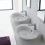 Луксозна мивка Wish 2001 за монтаж върху плот или конзола