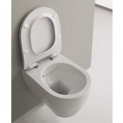 Стилна Тоалетна чиния Moon - тип конзолна