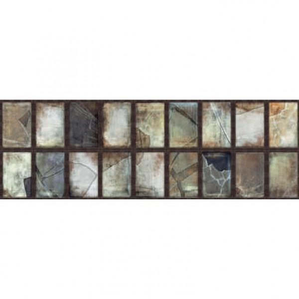 Стенни плочки за баня декоративни рамка цвят ръжда – Steel Oxidum Frame