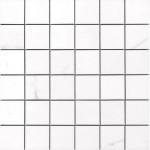 Гранитогресни плочки мозайка – Apuane White Pulido Mosaico 5x5