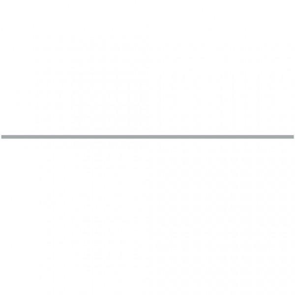 Фриз за баня линеарен сребрист цвят – Strato Plata Mate Lista