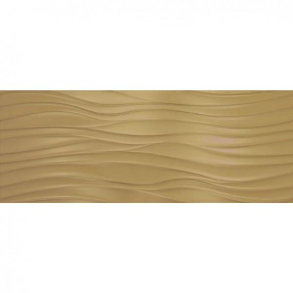 Стенни плочки за баня декоративен модул в златист цвят – Markham Gold Surf