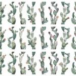 Плочки за баня с орнамент кактуси – Glimpse Cactus Ornato