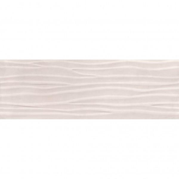 Стенни плочки за баня декор на вълни – RELIEVE TITAN WAVE IVORY