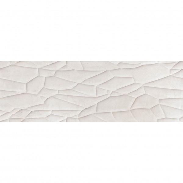 Текстурирани стенни плочки в бял цвят от Cifre (Испания)