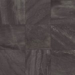 Уникален гранитогрес в черен цвят с каменен ефект FORWARD BLACK от Flaviker (Италия)