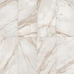 Страхотен гранитогрес в бял цвят с мраморен ефект SUPREME Golden Calacatta от Flaviker (Италия) - II качество