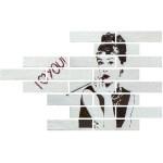 Гранитогресни плочки комплект с портрет – Image White