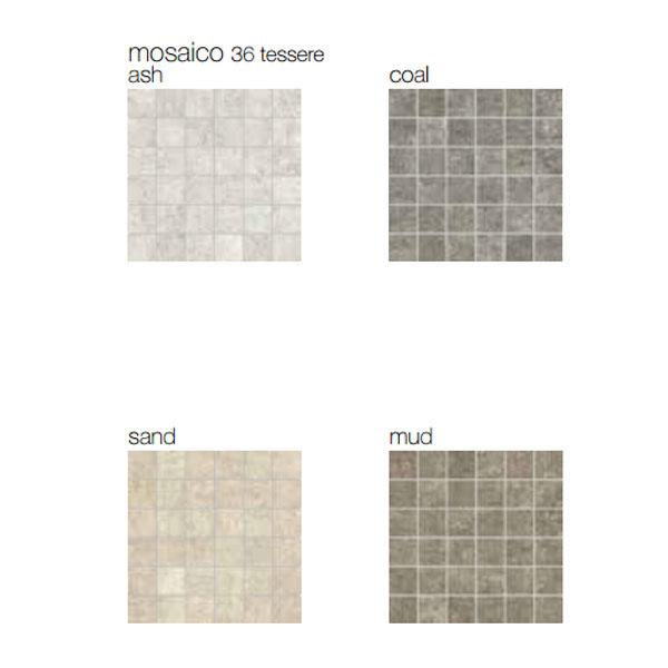 Гранитогрес плочки Mosaico 36 tessere