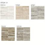 Гранитогрес плочки Oversize stripe 24  с размер 30 x 30 см.
