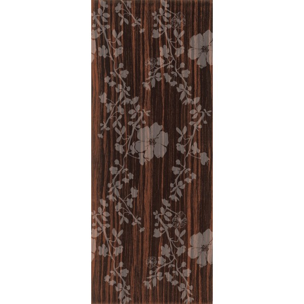 Фаянсови плочки за стена с размер 20 x 50  см. Latte Wenge Sia Medallion