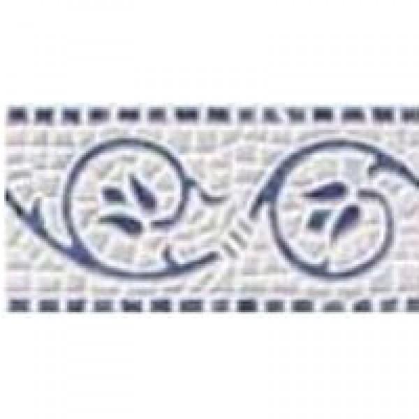 Фриз COPACABANA AZUL CENEFA  с размер 10 x 20 см.