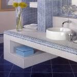 Плочки за баня син оникс COPACABANA WALL от Aparici (Испания)