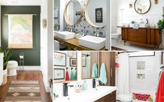 Идеи за съчетания на аксесоари за банята