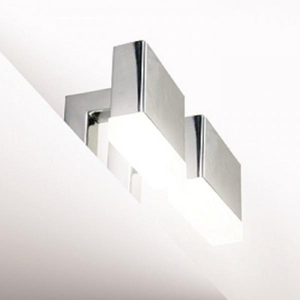 Осветително тяло за баня за монтаж върху мебел или огледало