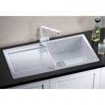 Керамична мивка за кухненски плот BLANCO IDENTO XL 6S