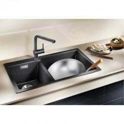 Двойна мивка от Силгранит за кухненски плот BLANCO PLEON 9