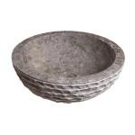 Мраморна мивка за ръце LAVAMANO MARMOL  - естествена текстура