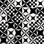 Mosaico Black and White Mix -плочки за стена