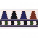 Cenefa Lora - декорни плочки за баня