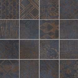 Плочки за баня тъмна мозайка Mosaico Pandora Dark