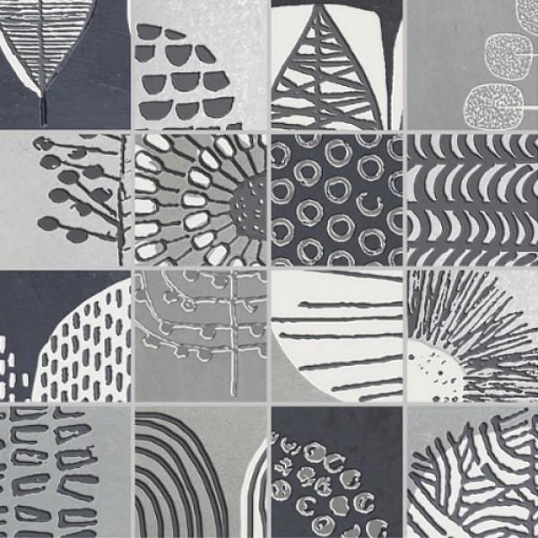 Плочки за баня сив мозаечен модул Mosaico Nairobi Gris