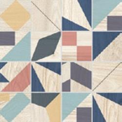 Плочки за баня цветна мозайка Mosaico Kaleido Mix