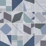 Плочки за баня мозайка синьо Mosaico Kaleido Blue