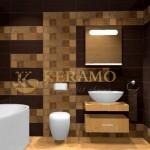 Koлекция плочки за баня Nuovo на Ibero (Испания)