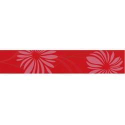 Фриз за баня червен декор – Cenefa Jade Red