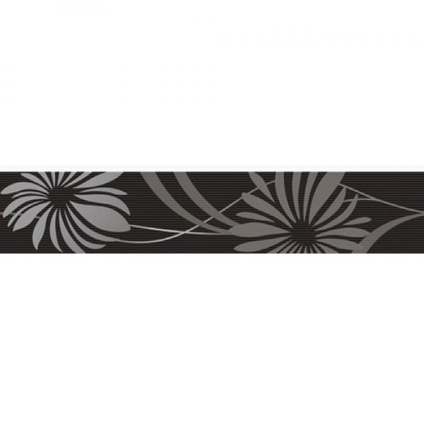 Фриз за баня черен декор – Cenefa Jade Black - фриз за баня