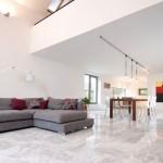 Гранитогресни плочки за баня ефект италаински мрамор – Carrara Ibero