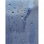 Фаянсови плочки за баня комплект за стена син триизмерен ефект – Decor Waterfall