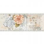 Стенни плочки за баня декоративен фаянс – Ажур розова роза