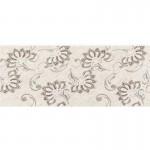 Стенни плочки за баня декоративен фаянс – Ажур бежови листа