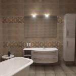 Неутрални плочки за баня Balsam от Keros (Испания)