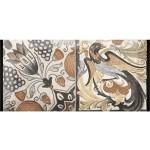 Стенни плочки за баня 10x20 см Antique 7 Monopole Ceramica