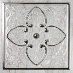 Плочки за баня 15x15 см Armonia Petra Silver A Monopole Ceramica