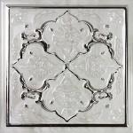 Плочки за баня 15x15 см Armonia Petra Silver C Monopole Ceramica