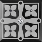 Плочки за баня 15x15 см Etna Platinum 2 Monopole Ceramica