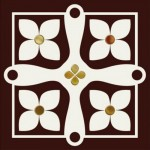 Плочки за баня 15x15 см Etna Gold B Monopole Ceramica