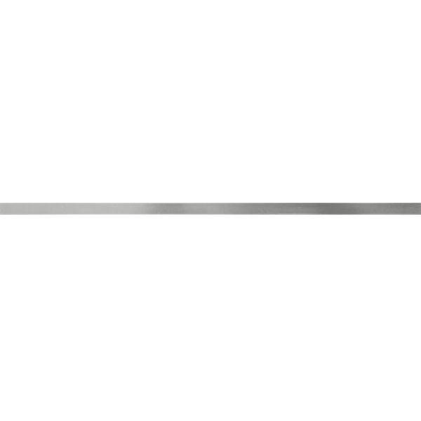 Фриз за баня с размери Blade Gloss Steel с размер 1.5 x 29.5 см.