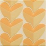 Стенни плочки декор сърца цвят лима – Agatha Mille Cuori Lima