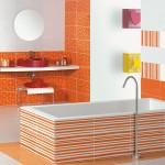 Оживери плочки за динамична баня Agatha от Pamesa Ceramica  (Испания)
