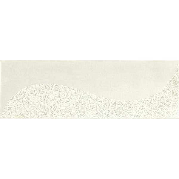 Стенни плочки за баня декор точки и линии – Handmade Decoro Ivory A