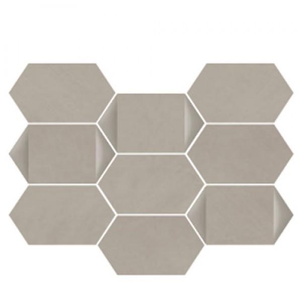 Плочки за баня Segni Terra Esagona Dec. 26x35 см Vallelunga&Co.