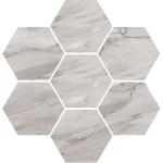 Плочки за баня 30x28 см Esagona Argenta Vallelunga