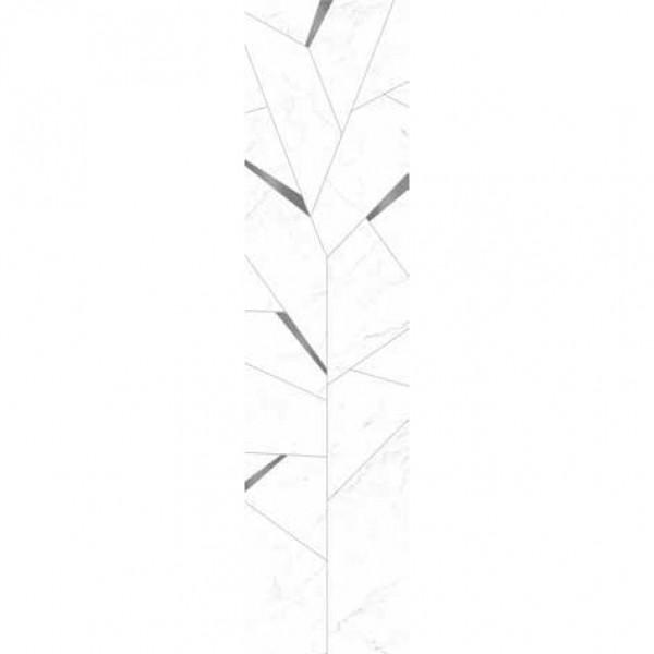 Гранитогрес ефект мрамор Карара Cut On Size Composizione Albero Carrara/Acciaio